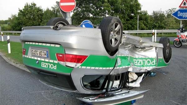 Die Polizei und ihre Unfälle