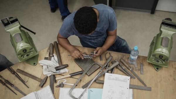 Eingliederung von Flüchtlingen in Arbeitsmarkt