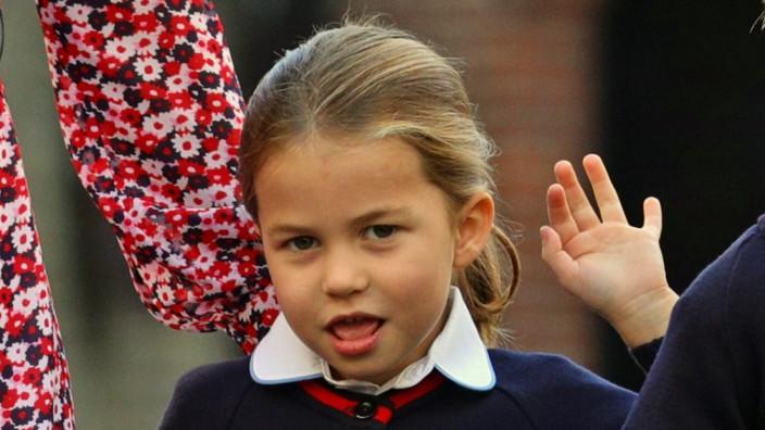 Schulbeginn für Prinzessin Charlotte