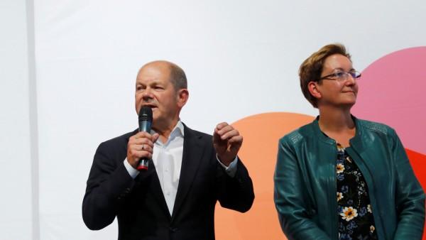 Germany's SPD presents leadership candidates in Saarbruecken