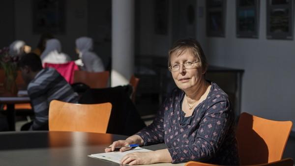 """Petra Becker, Gründerin des Lernprojekts """"Back on Track"""" für syrische Flüchtlingskinder"""