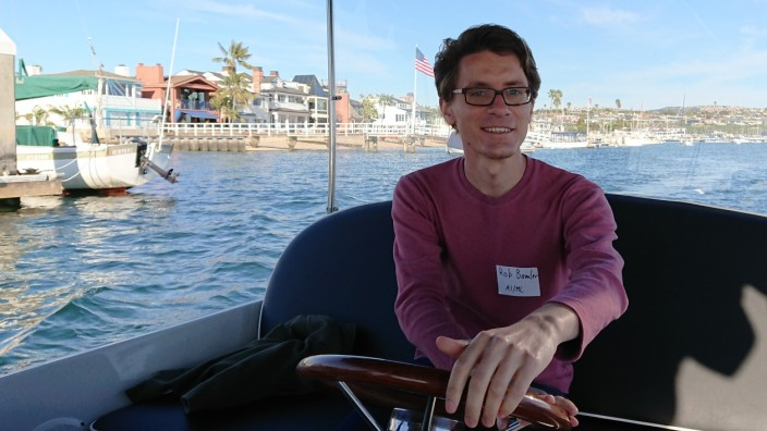 Robert Bamler forscht in Kalifornien.