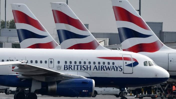 British Airways - Flugzeuge am Flughafen London Heathrow