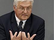Außenminister Frank-Walter Steinmeier (SPD)  AP