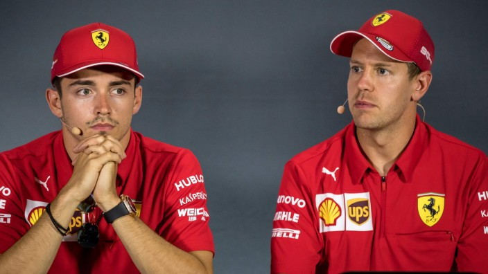 Ferrari: Charles Leclerc und Sebastian Vettel 2019 in Monza