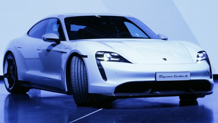 Porsche AG's Electric Taycan Takes Aim at Tesla