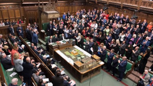 House of Commons debates, London, United Kingdom - 09 Sep 2019