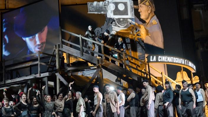 Deutsche Oper Berlin 'La forza del destino' von Giuseppe Verdi