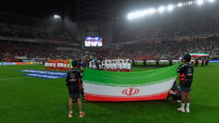 China v Iran - AFC Asian Cup Quarter Final; Iran