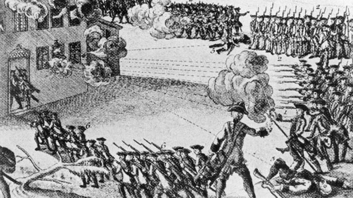 Matthias Klostermaier während seiner umkämpften Verhaftung, 1771