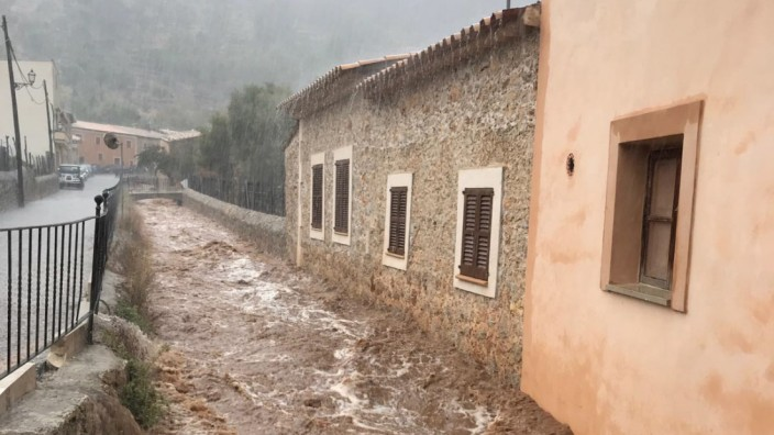 Heftige Unwetter auf Mallorca