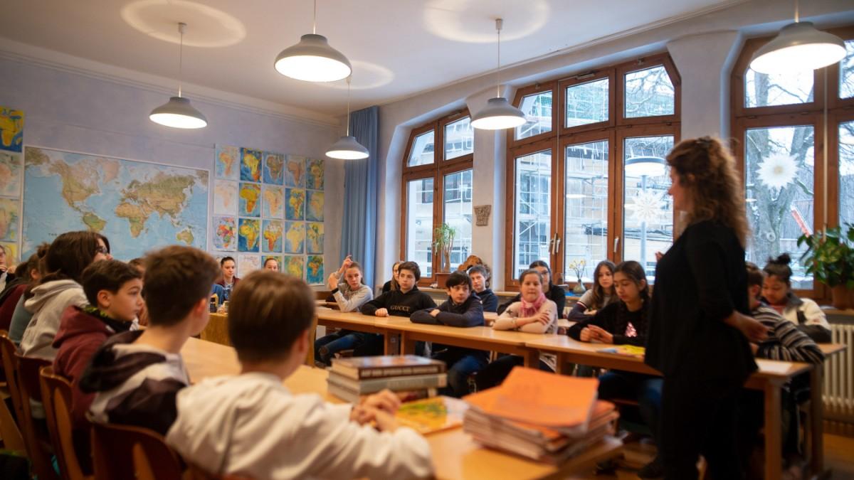 100 Jahre Waldorfschule - Erfolg in Pastell