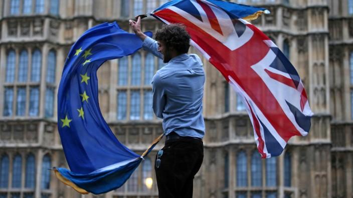 Engpässe und Unruhen: Bittere Szenarien für No-Deal-Brexit der britischen Regierung