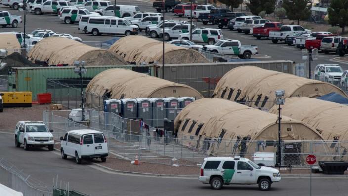 Flüchtlingslager El Paso Texas