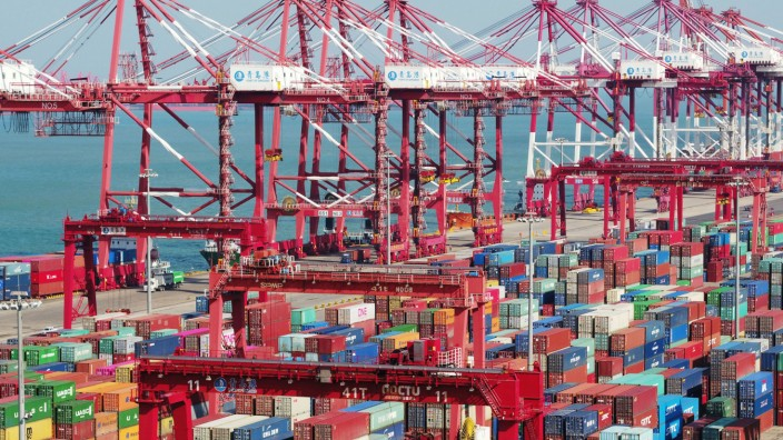 China Container Strafzölle