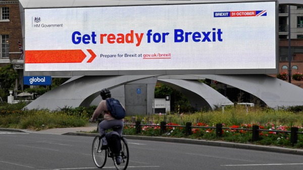 Brexit Anzeige London