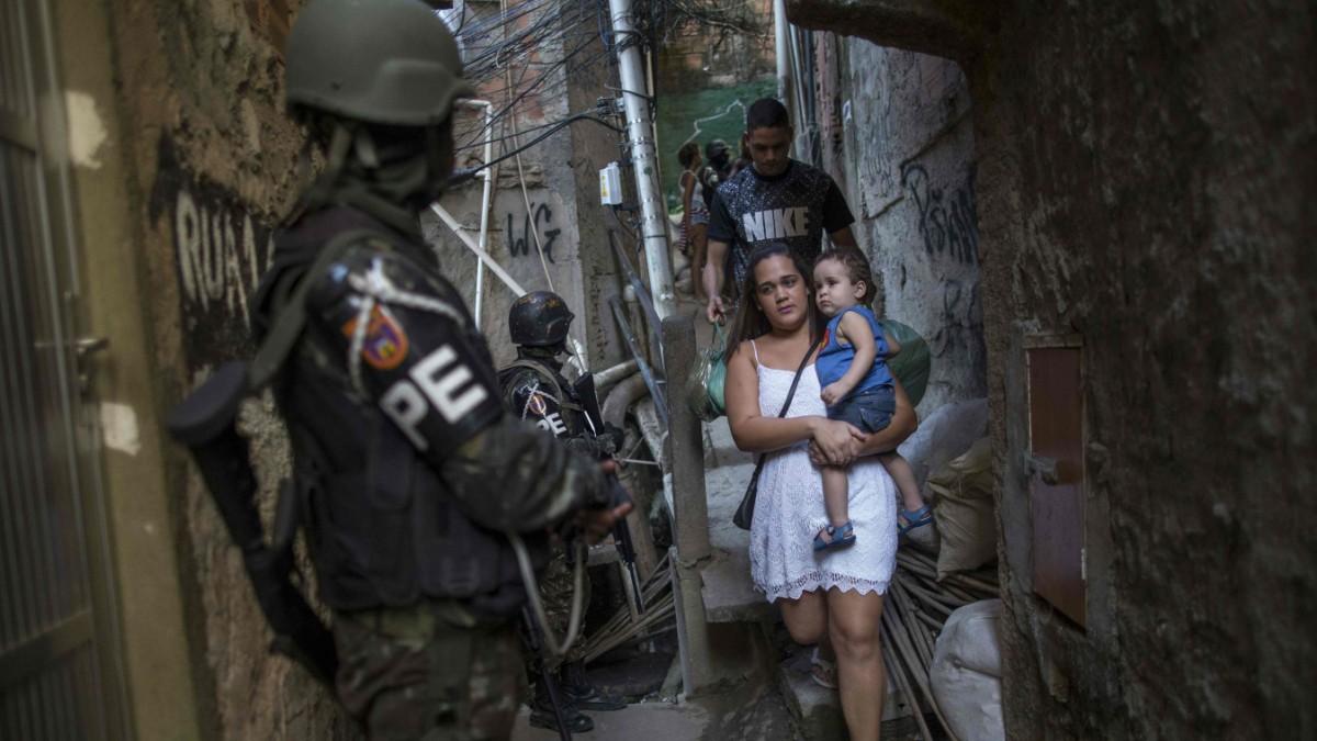Feuer frei in der Favela