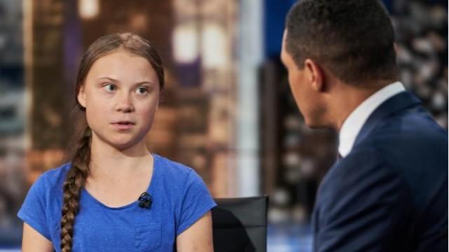 Greta Thunberg macht keine Witze