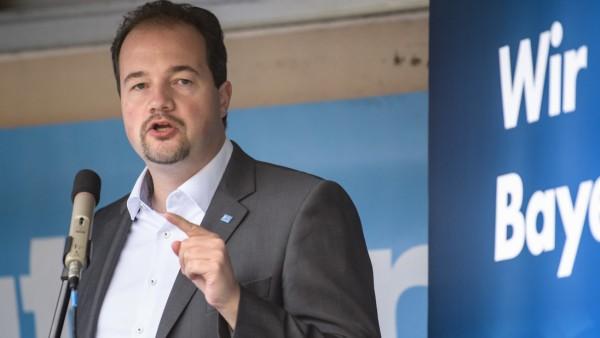 Martin Sichert will als AfD-Landesvorsitzender beim Parteitag in Greding wiedergewählt werden.
