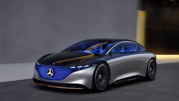 Mercedes-Benz Vision EQS 2019  Mercedes-Benz Vision EQS 2019