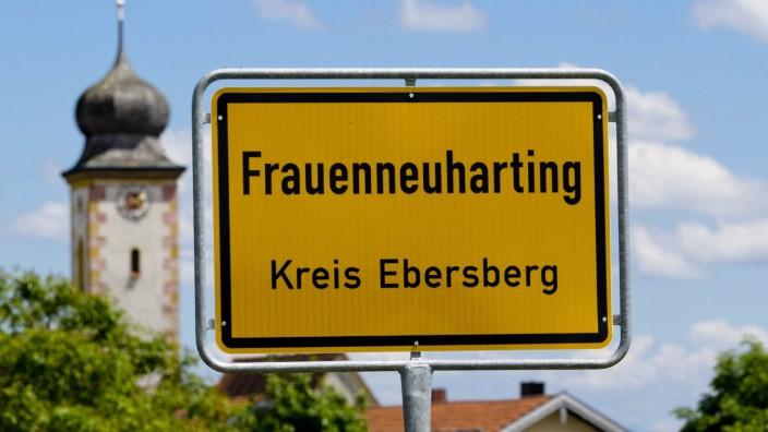 Ortsschild Gemeinde Aßling Assling