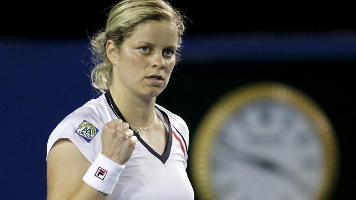 Kim Clijsters bei den Australian Open 2010