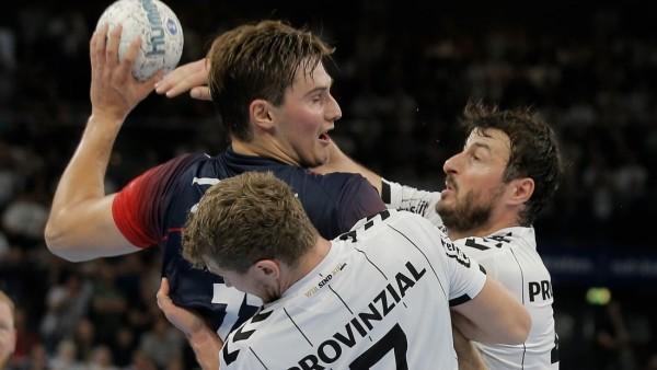 1 Handball Bundesliga THW Kiel Flensburg Handewitt Kiel 12 9 2019 Kein Durchkommen Magnus Röd