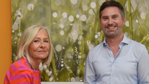 Ulrike Tümmler-Wanger und Stefan Port von Kibs