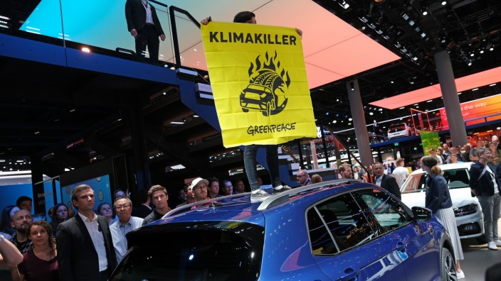 European Best Pictures Of The Day - September 12, 2019 - IAA 2019 Frankfurt Auto Show: Opening Day