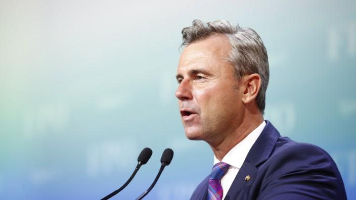 Bundesparteitag der FPÖ in Österreich