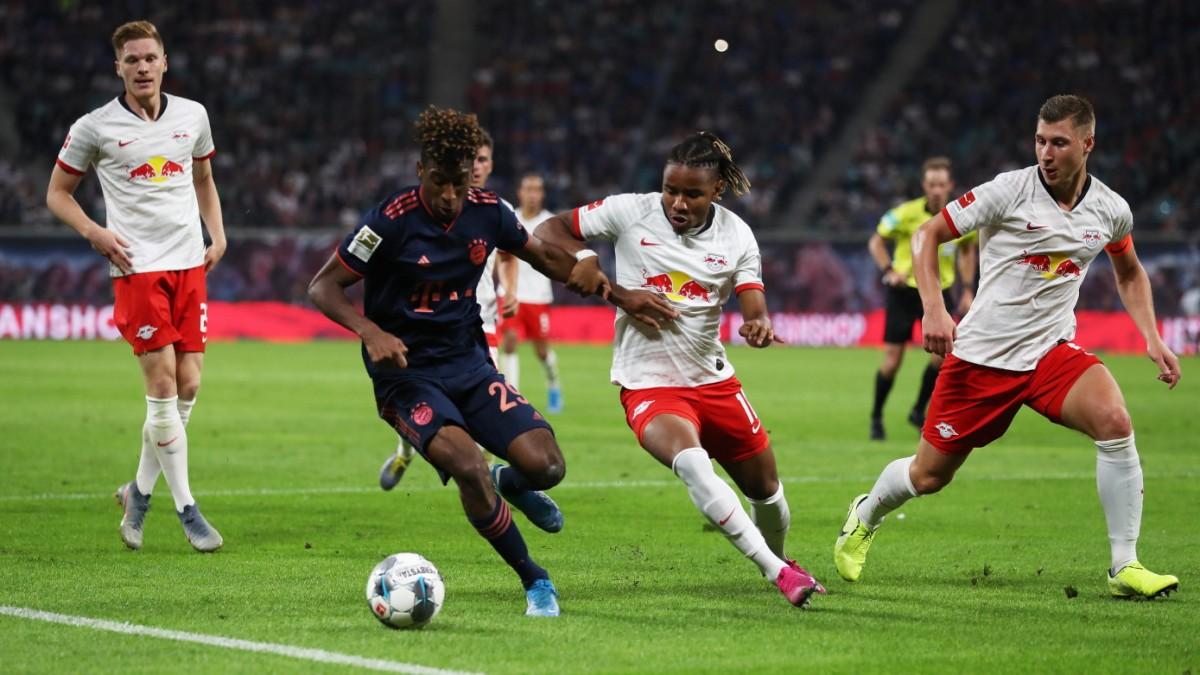 RB gegen Bayern: Eine Halbzeit Raserei