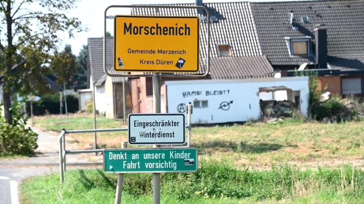 Totgesagtes Dorf am Hambacher Forst lebt vielleicht weiter