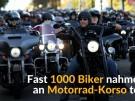 Biker demonstrieren gegen Kutten-Verbot (Vorschaubild)