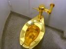Klo aus Gold verschwunden (Vorschaubild)