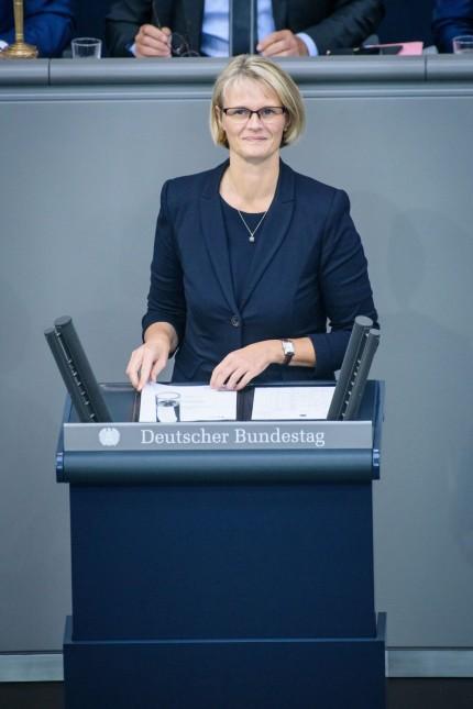 Bundestag berät Haushalt 2020 Deutschland Berlin 12 09 2019 Im Bild ist Anja Karliczek Bundesm