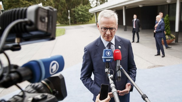 European Finance Ministers Attend Ecofin Meeting