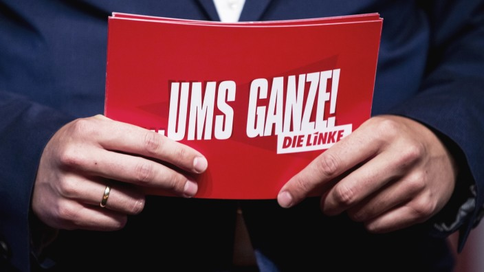Landesparteitag Linke Brandenburg