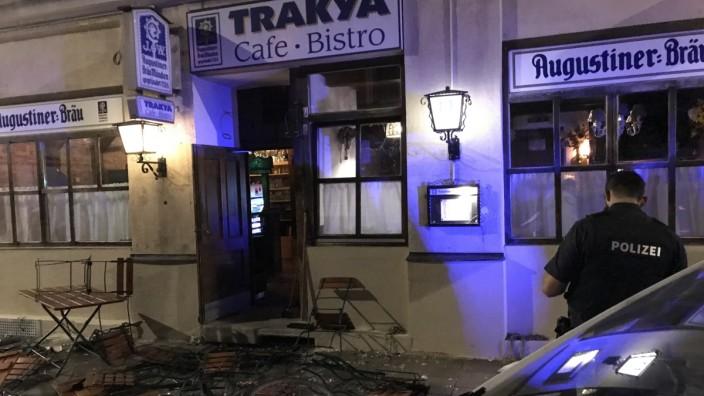 Schlägerei in Münchner Bar