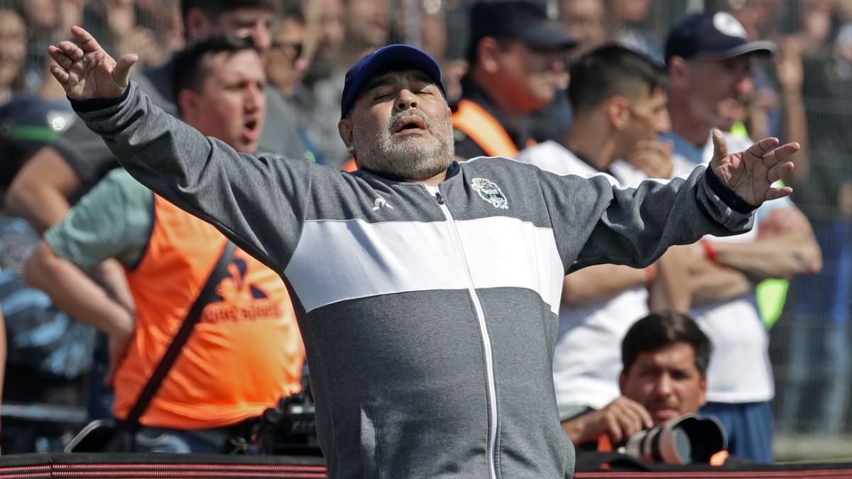 Maradona-Debüt geht verloren