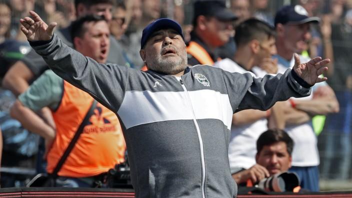 maradona heute krank krankheit töchter