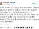 Trump verschärft Ton nach Ölangriff (Vorschaubild)
