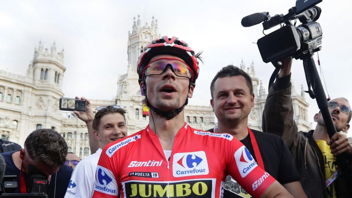 Primoz Roglic - Skispringer als Vuelta-Sieger