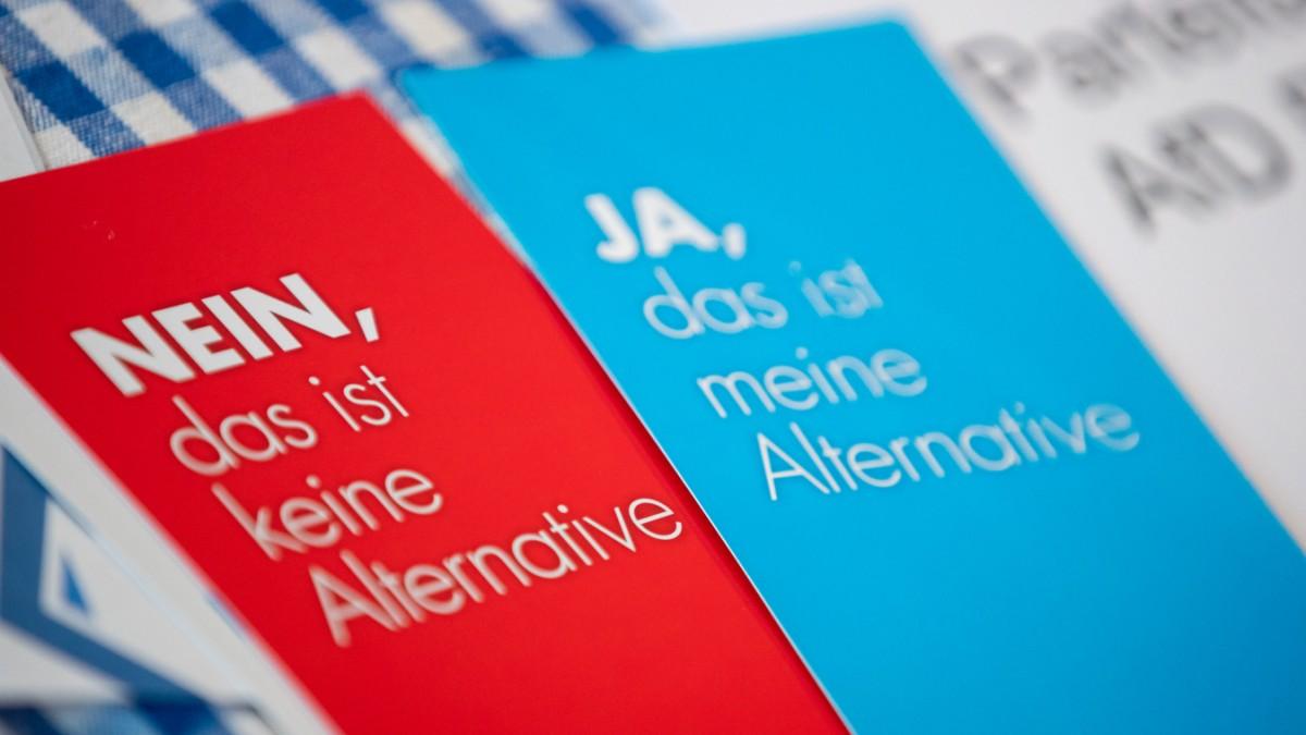 AfD Bayern wollte Protest gegen Parteitag beschränken