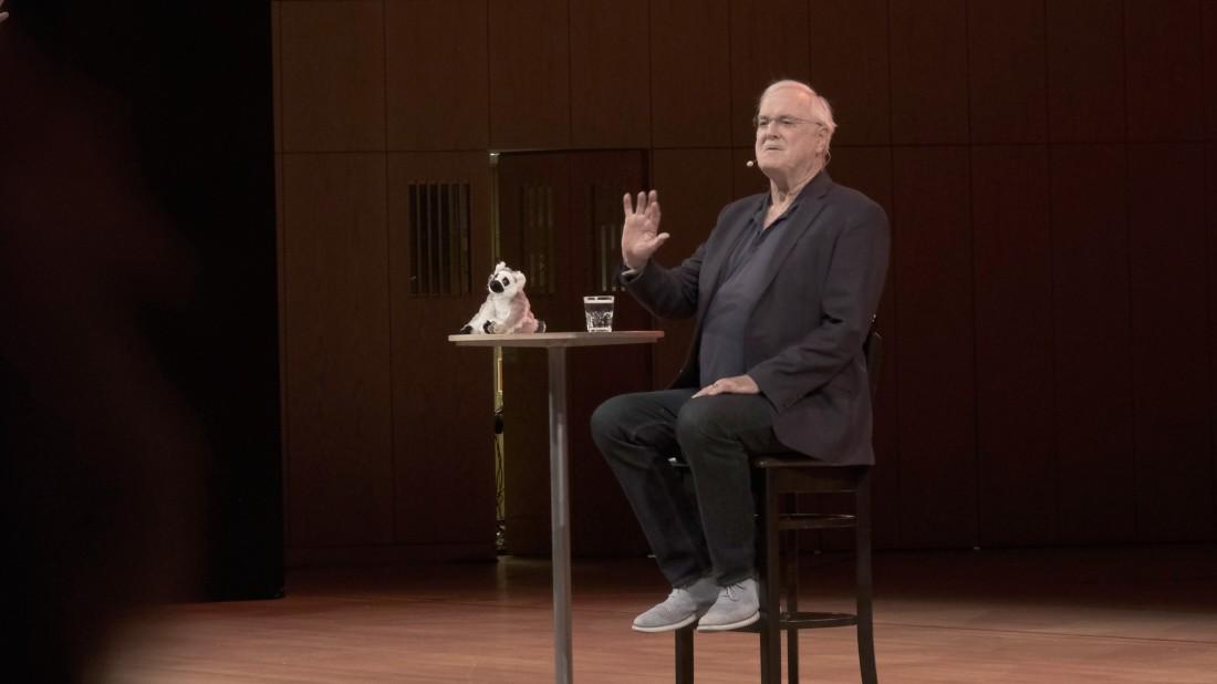 John Cleese in München: Wunderbare Welt der Scherzkraft