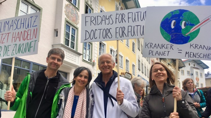 Doctors For Future Bad Tölz Gemeinschaftspraxis Klimastreik