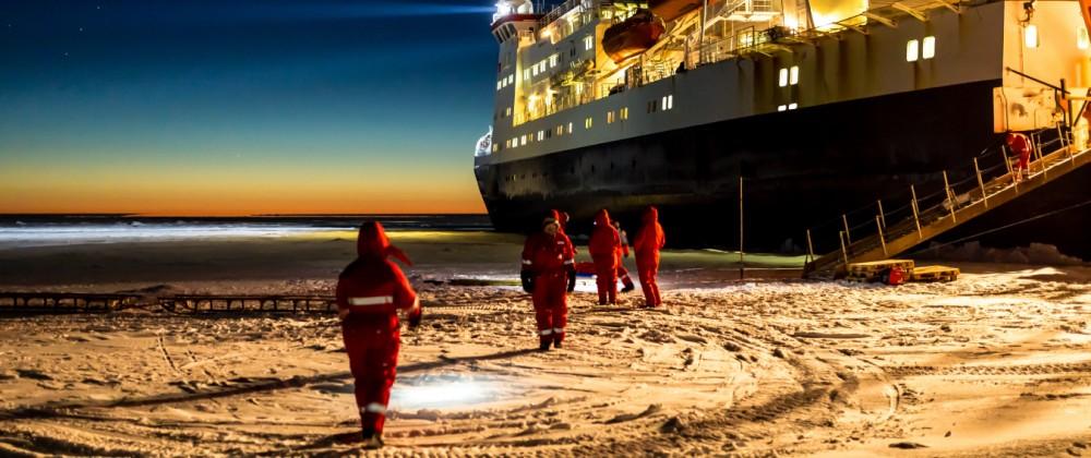 Arktis-Expedition mit der Polarstern