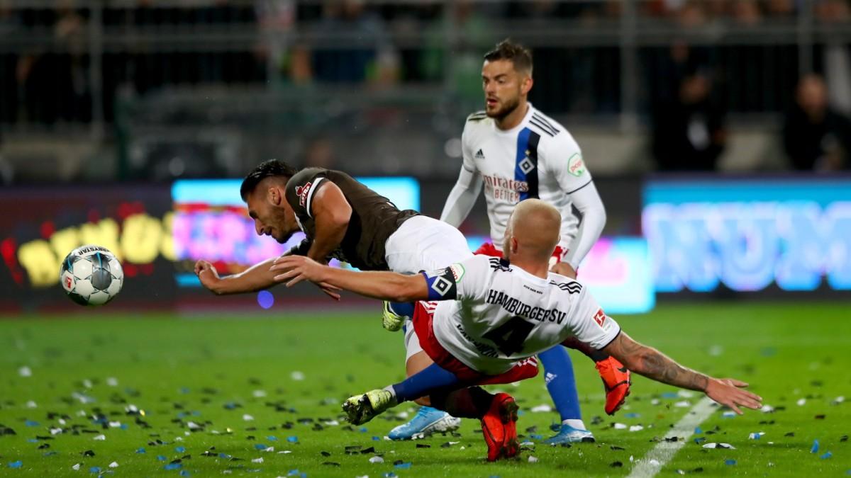 HSV erleidet historische Niederlage gegen St. Pauli
