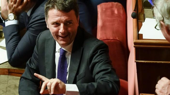 Italien - Früherer Premier Renzi verlässt Sozialdemokraten
