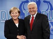 Merkel, Steinmeier, AP