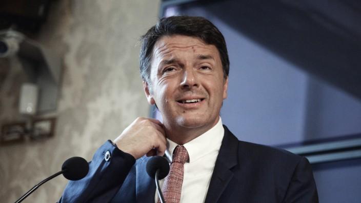 Italiens Ex-Premier Renzi verlässt Sozialdemokraten